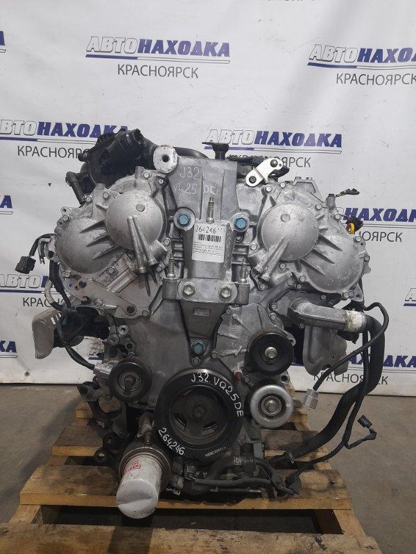 Двигатель Nissan Teana J32 VQ25DE 2008 № 408476A пробег 106 т.км. ХТС. С аукционного авто. Есть видео