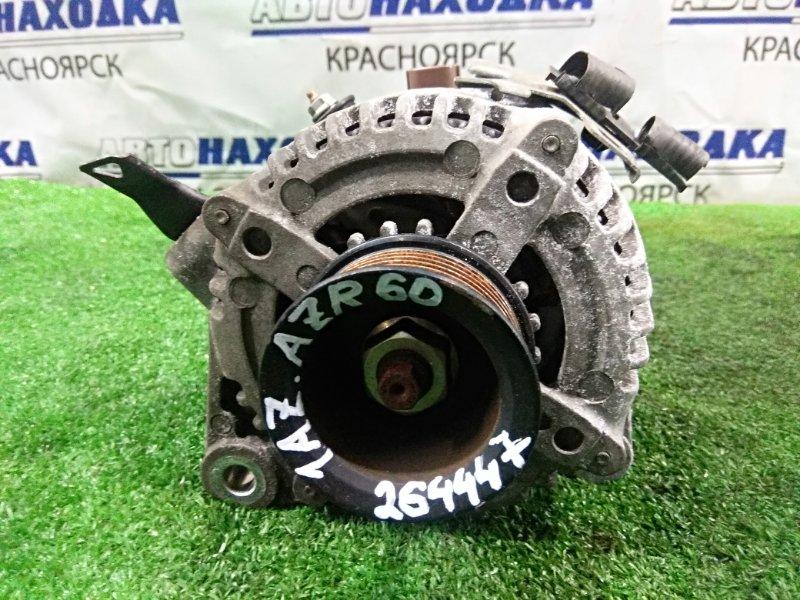 Генератор Toyota Voxy AZR60G 1AZ-FSE 2001 130 А! фишка на 4 контакта, пробег 99 т.км.