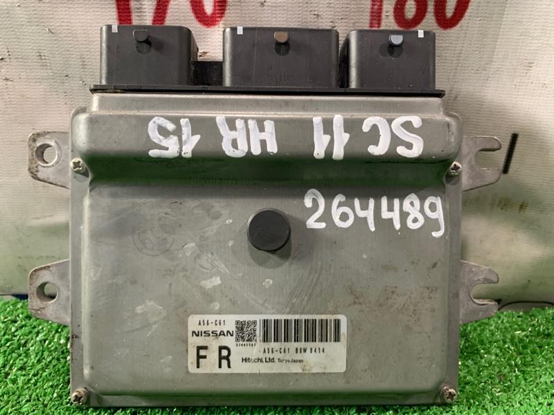 Компьютер Nissan Tiida Latio SC11 HR15DE 2004 блок управления ДВС A56-C61