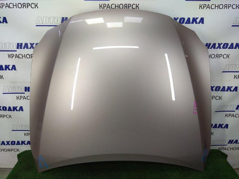 Капот Lexus Is250 GSE20 4GR-FSE 2005 передний ХТС, серый (3R4), алюминиевый, два незначительных скола