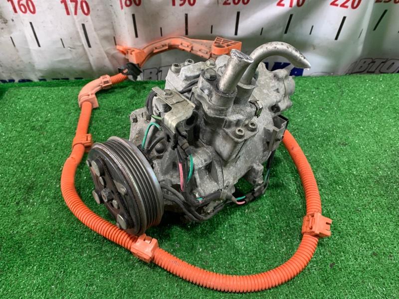 Компрессор кондиционера Honda Civic FD3 LDA 2005 пробег 48 т.км.