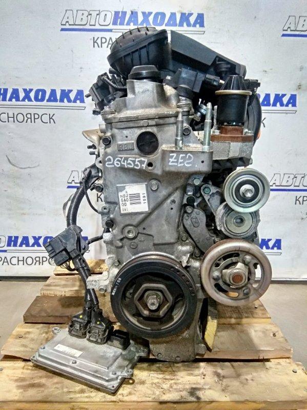 Двигатель Honda Insight ZE2 LDA 2009 № 2075470 пробег 95 т.км. С аукционного авто. Есть видео