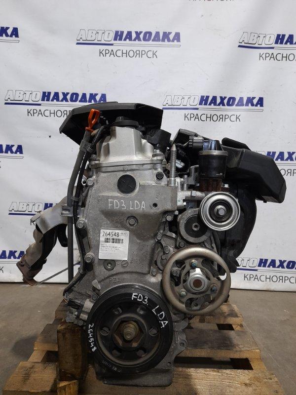 Двигатель Honda Civic FD3 LDA 2005 № 1332346 пробег 48 т.км. С аукционного авто. Есть видео работы
