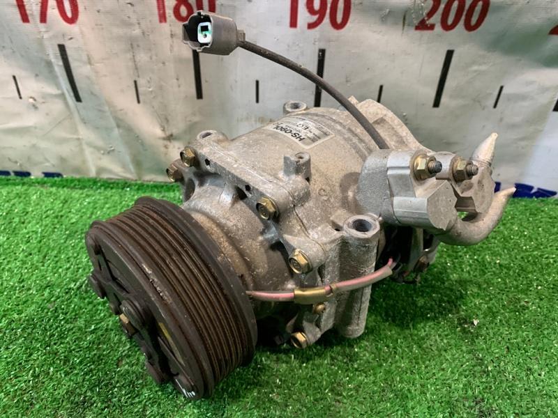 Компрессор кондиционера Honda Stream RN1 D17A 2003 пробег 57 т.км. ХТС. С аукционного авто.