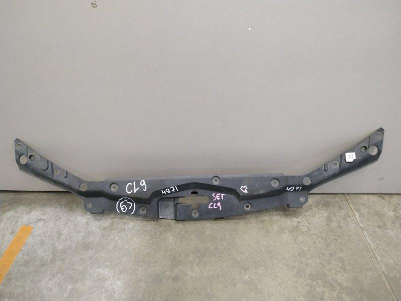 Накладка замка капота Honda Accord CL9 K24A 2002 71123-SEA-0031 накладка на рамку рад-ра на замок