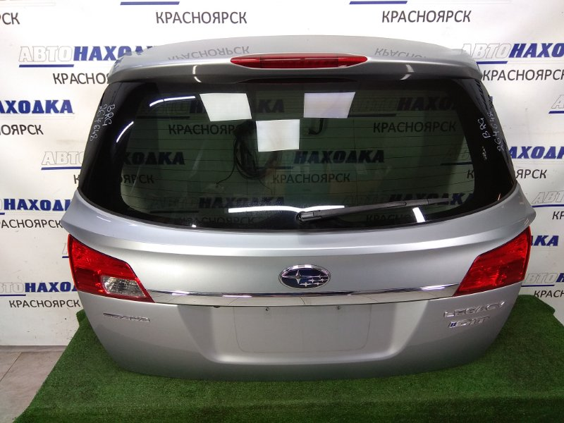 Дверь задняя Subaru Legacy BRG FA20 2009 задняя ХТС, в сборе, серая (G1U), метла, спойлер, камера З/Х,