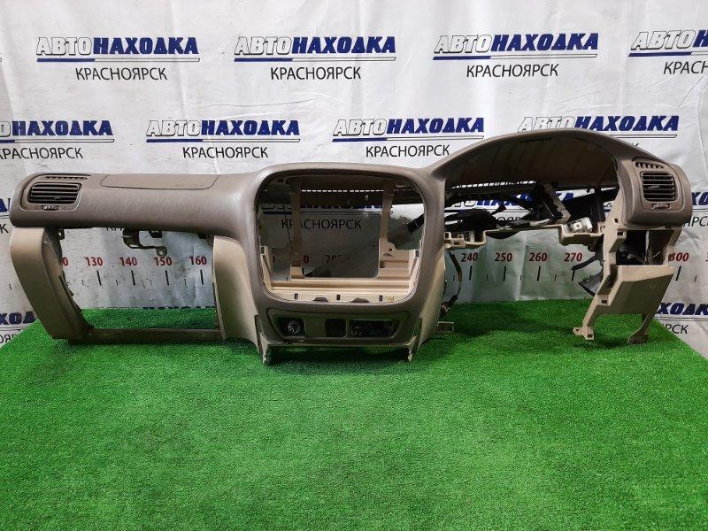 Airbag Toyota Land Cruiser HDJ101K 1HD-FTE левый пассажирский (панель в сборе), с подушкой , с зарядом.