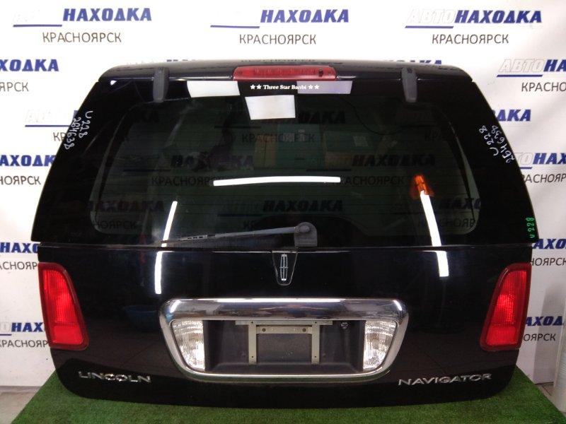 Дверь задняя Lincoln Navigator U228 LINCOLN INTECH 2003 задняя в сборе, черная, 2 поколение (03-06г), с