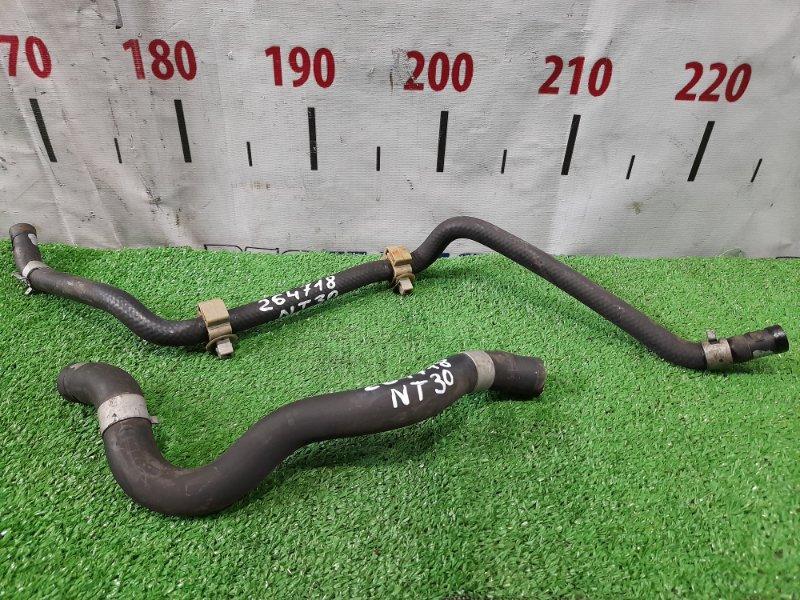 Шланг гидроусилителя Nissan X-Trail NT30 QR20DE 2003 низкого давления, 2 шт.