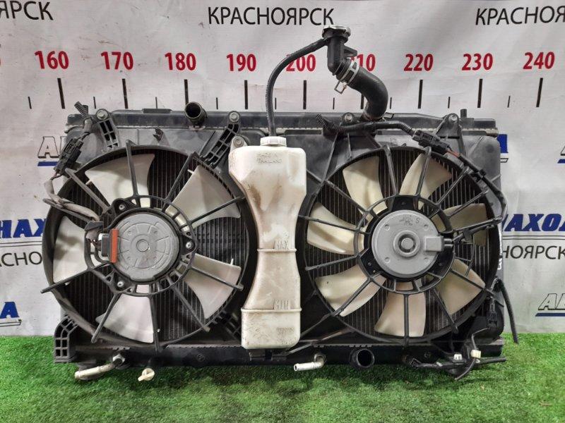 Радиатор двигателя Honda Freed GB3 L15A 2008 А/Т с диффузорами и вентиляторами + бачок