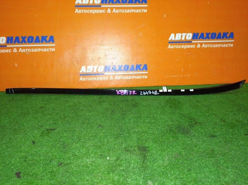 Молдинг лобового стекла Honda Legend KB1 J35A 2004 правый отломан край , три крепление лом