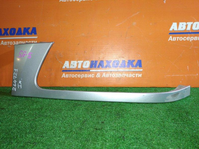Планка под фару Subaru Forester SG5 EJ20 2002 передняя левая под покраску