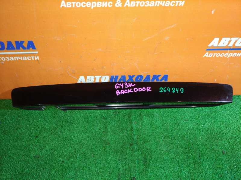 Накладка багажника Mazda Atenza GY3W L3-VE 2002 5-й двери