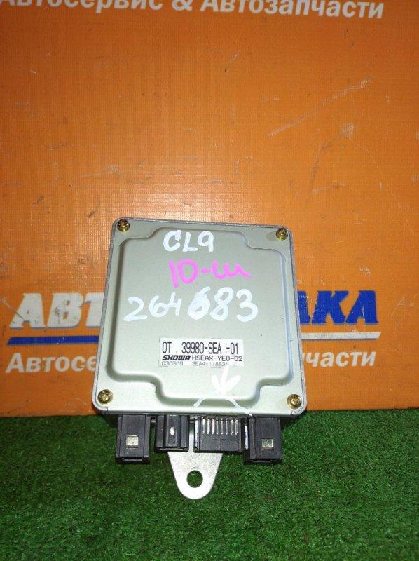 Блок управления рейкой Honda Accord CL9 K24A 2002 сломана одна фишка