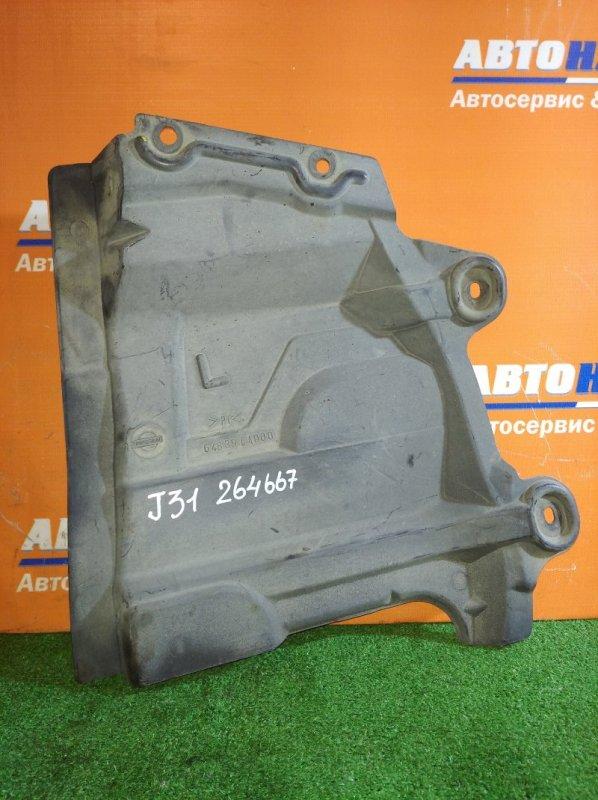 Защита двс Nissan Teana J31 VQ23DE 2003 передняя левая боковая