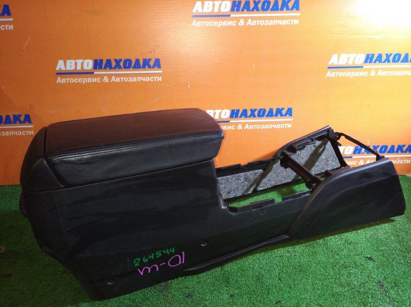 Консоль между сидений Honda Accord CL9 K24A 2002 с подлокотником+ пепельница