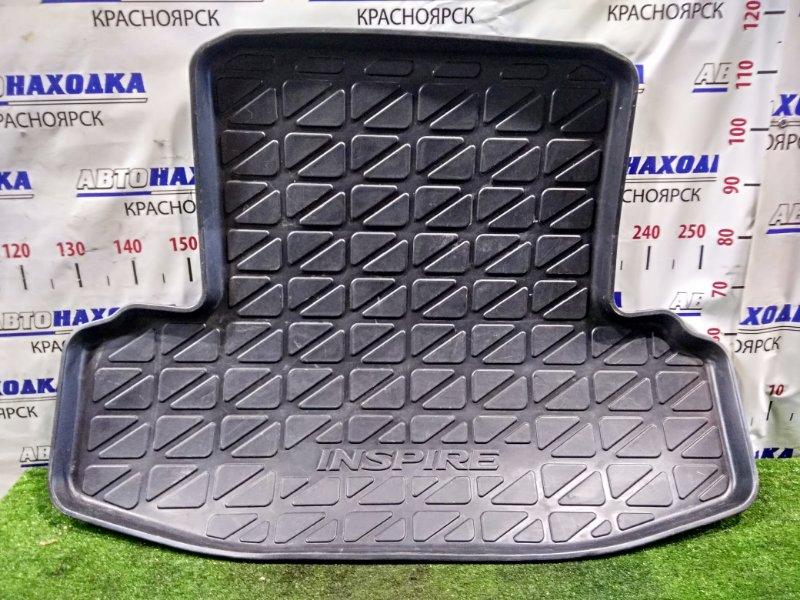 """Коврик Honda Inspire UA1 G20A 1995 задний в багажник, резиновый с надписью """"INSPIRE"""""""