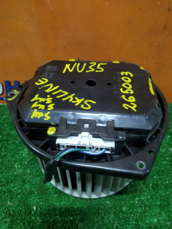 Мотор печки Nissan Skyline HV35 VQ30DD КРИВАЯ КРЫЛЬЧАТКА
