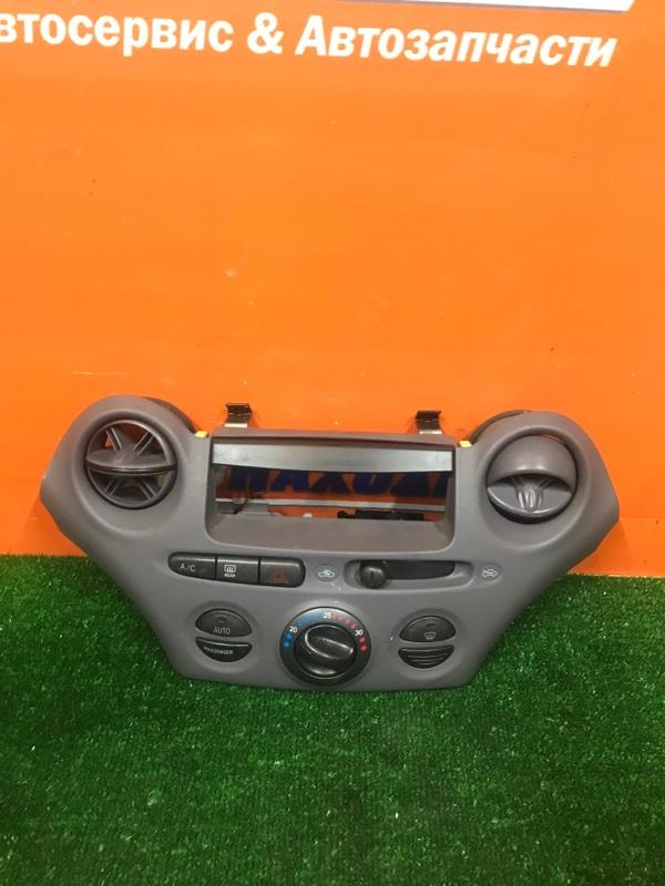 Климат-контроль Toyota Platz NCP12 1NZ-FE 1999