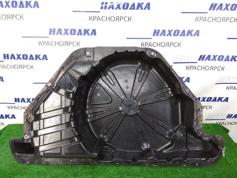 Пол багажника Renault Megane BM F4R 2002 пластиковая ниша в багажник под запасное колесо,