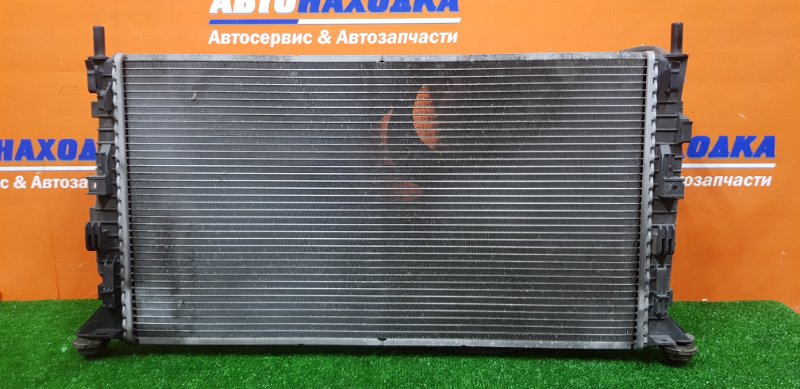 Радиатор двигателя Mazda Axela BK3P L3-VDT 2006 MPS/МКПП/ в сборе с диффузором