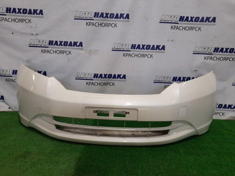 Бампер Honda Freed GB3 L15A 2008 передний Передний, 1 модель, цвет NH624P. Есть глубокие царапины (см.