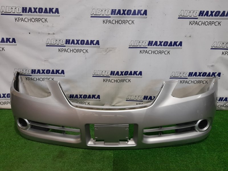 Бампер Toyota Caldina ZZT241W 1ZZ-FE 2005 передний Передний, 2 модель, с заглушками, цвет 1F7. Есть пара