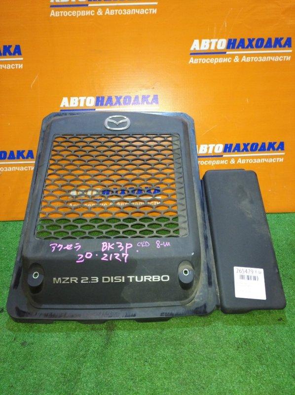Крышка гбц Mazda Axela BK3P L3-VDT 2006 накладка на интеркулер
