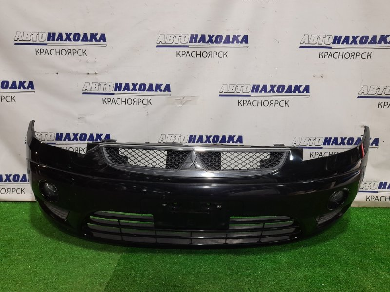 Бампер Mitsubishi Colt Z21A 4A90 2002 передний Передний, 3 мод, цвет X42A, с решеткой и туманками (VALEO).