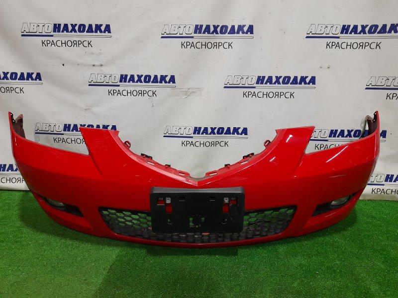 Бампер Mazda Axela BK5P ZY-VE 2006 передний передний, седан, 2 мод. (рестайлинг), цвет A4A, с