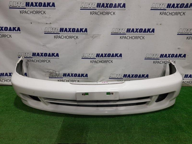 Бампер Honda Integra DB6 ZC 1998 передний передний, 3 модель, NH-578, с заглушками. Надорван снизу в 2