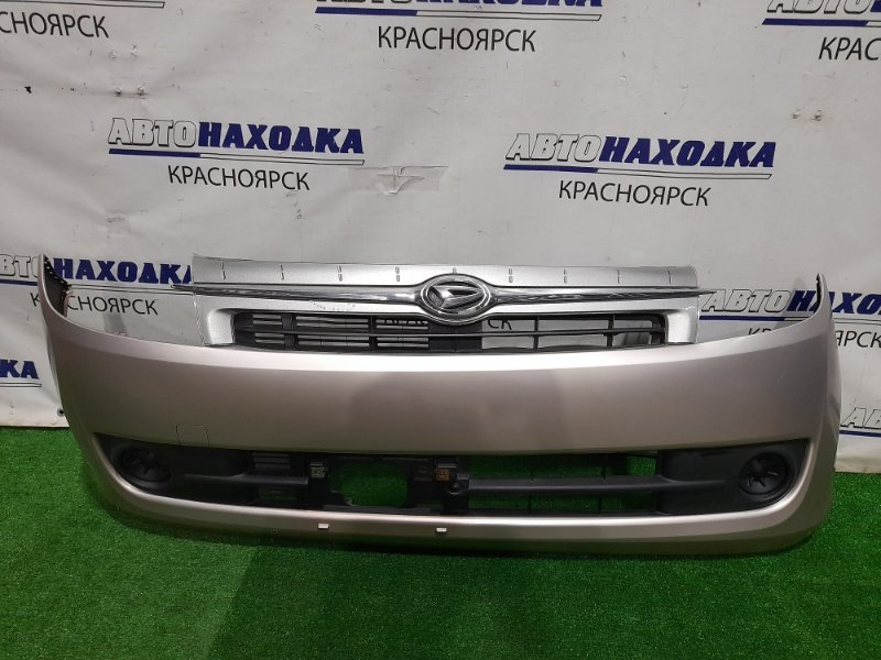 Бампер Daihatsu Mira L275S KF-VE 2006 передний комплектация CUSTOM, передний, с решеткой, с