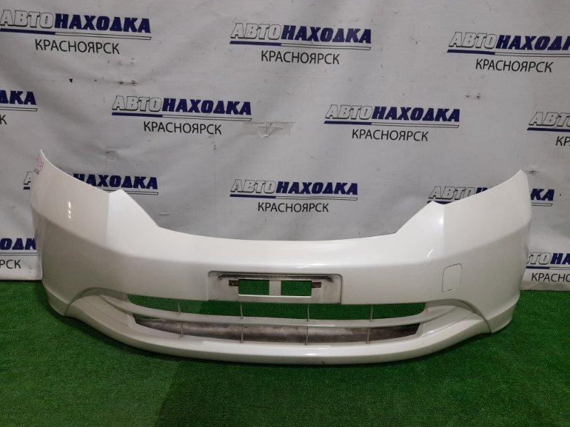 Бампер Honda Freed GB3 L15A 2008 передний Передний, 1 модель, цвет NH624P, царапинки, потертости (см.