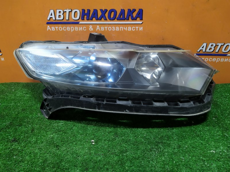 Фара Honda Insight ZE2 LDA передняя правая ГАЛОГЕН, +ЭЛЕКТРОКОРРЕКТОР, +ПЛАНКА,