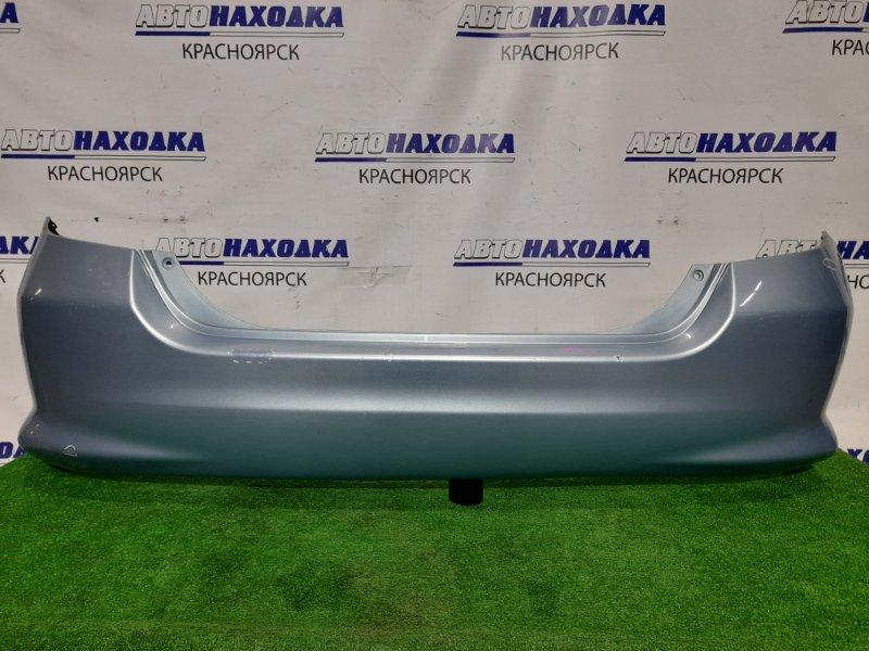 Бампер Honda Fit GD1 L13A 2001 задний Задний, 2 мод. цвет B528M. Подкрашивались царапины (см.фото).