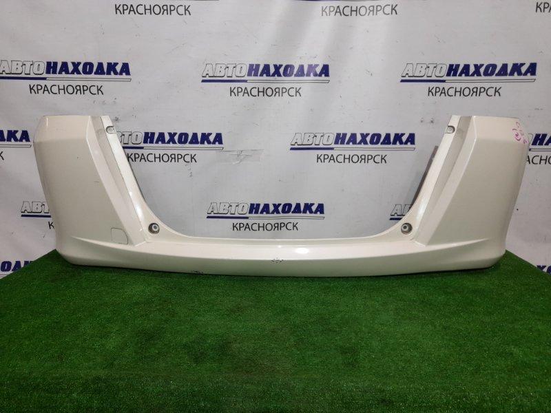 Бампер Honda Freed GB3 L15A 2008 задний Задний, цвет NH624P, есть крепления брызговиков. Есть