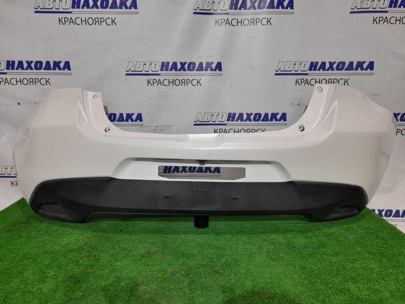 Бампер Mazda Demio DJ3FS P3-VPS 2014 задний Задний. С камерой з/х. Дефект двух маленьких верхних