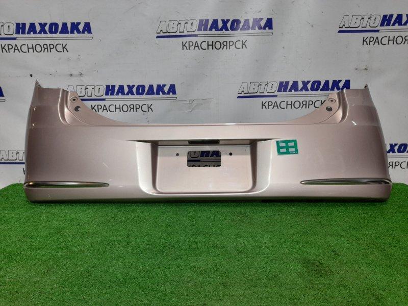 Бампер Daihatsu Mira L275S KF-VE 2006 задний задний, комплектация CUSTOM, цвет T22, хром ОК. сломан