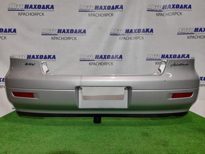 Бампер Mitsubishi Airtrek CU4W 4G64 2001 задний Задний, цвет A69A, катафотами. Небольшая трещина в