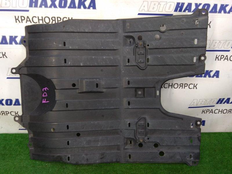 Защита двс Honda Civic FD3 LDA 2005 центр, цельная