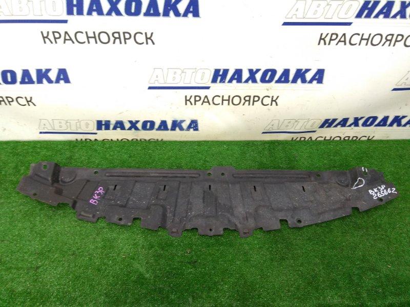 Защита двс Mazda Axela BK3P L3-VE 2003 передняя под бампер, незначительные надрывы