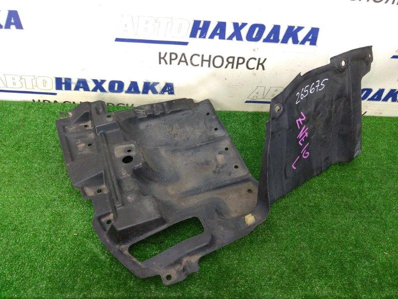 Защита двс Toyota Wish ZNE10G 1ZZ-FE 2005 передняя левая левая