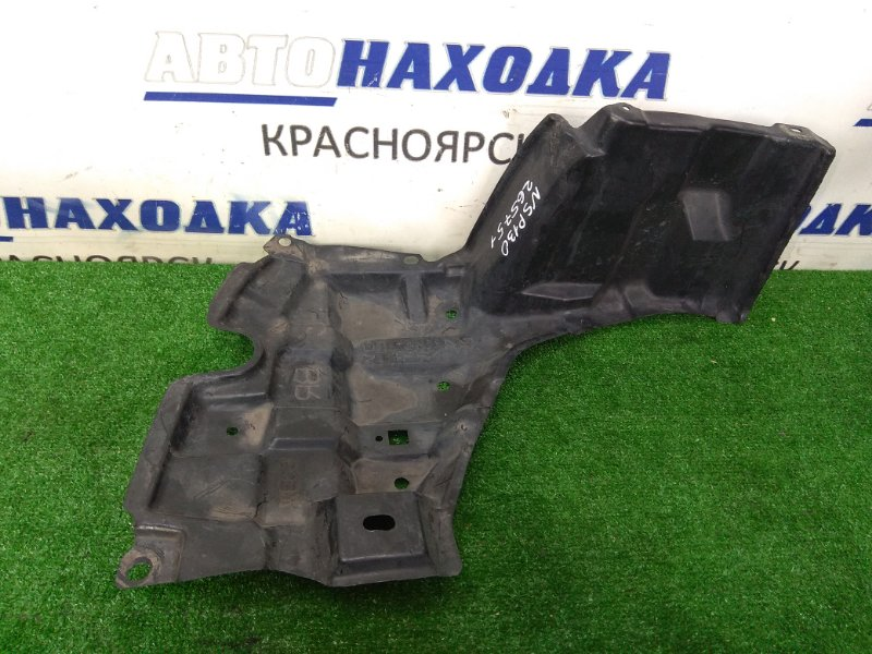 Защита двс Toyota Vitz NSP130 1NR-FE 2010 передняя правая правая