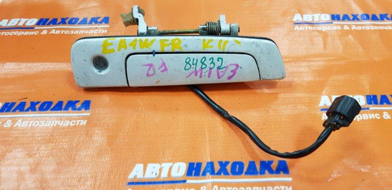 Ручка внешняя Mitsubishi Galant EA1A передняя правая FR б.ночь+личинка