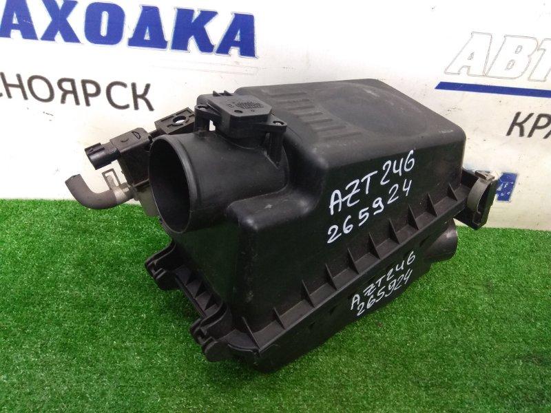 Корпус воздушного фильтра Toyota Caldina AZT246W 1AZ-FSE 2005 + ДМРВ 22204-22010