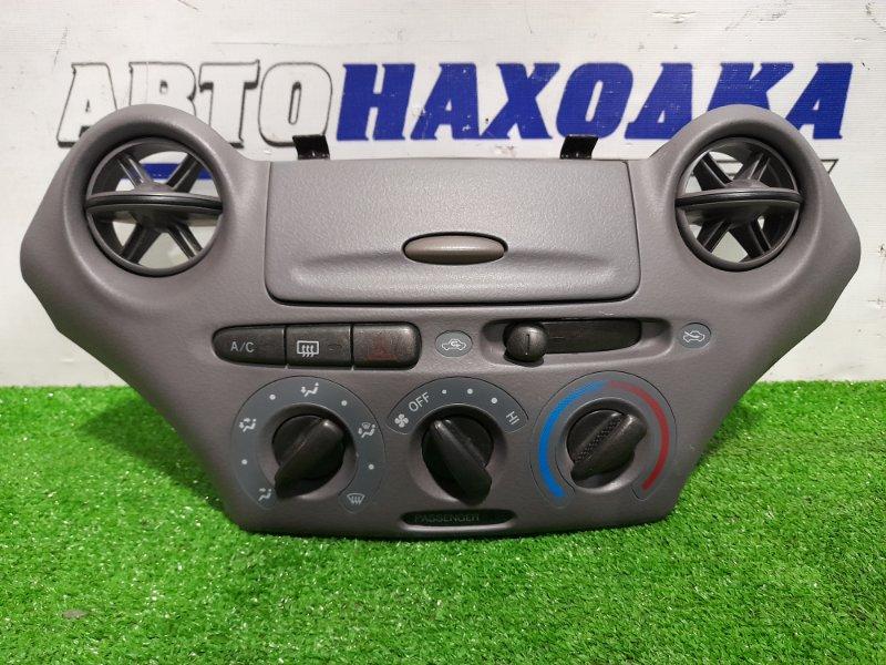 Климат-контроль Toyota Platz NCP12 1NZ-FE 1999 1 модель, механический, с дефлекторами и