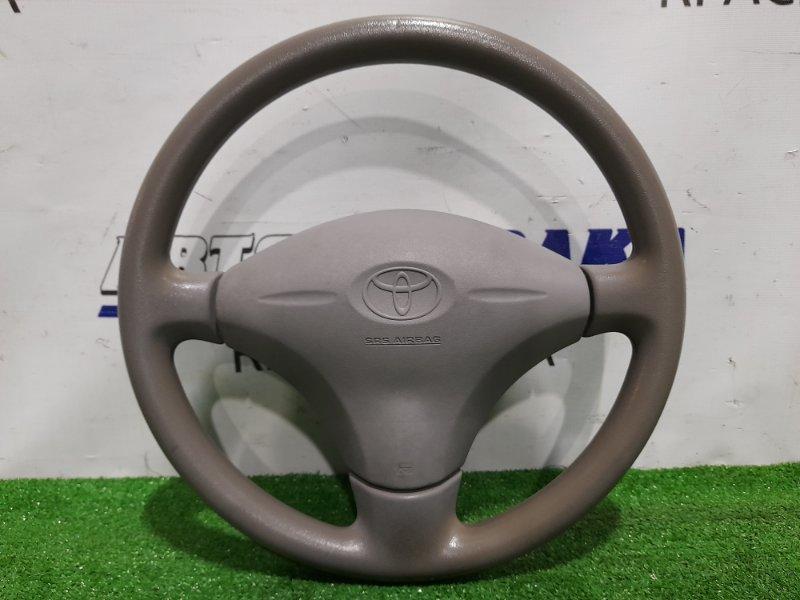 Airbag Toyota Platz NCP12 1NZ-FE 1999 водительский, с рулем, без заряда, серый