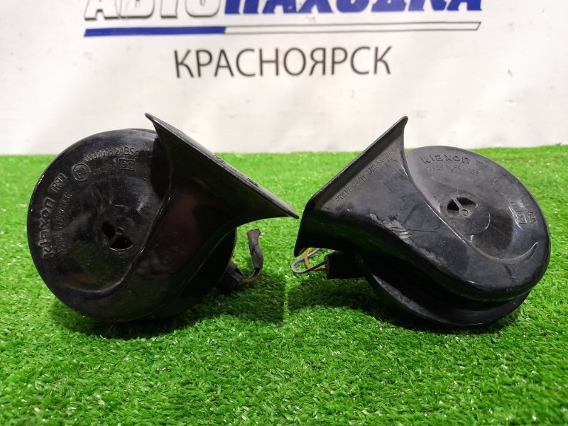 "Сигнал Bmw 525I E60 M54B25 2003 пара, ""улитки"" KLAXON"
