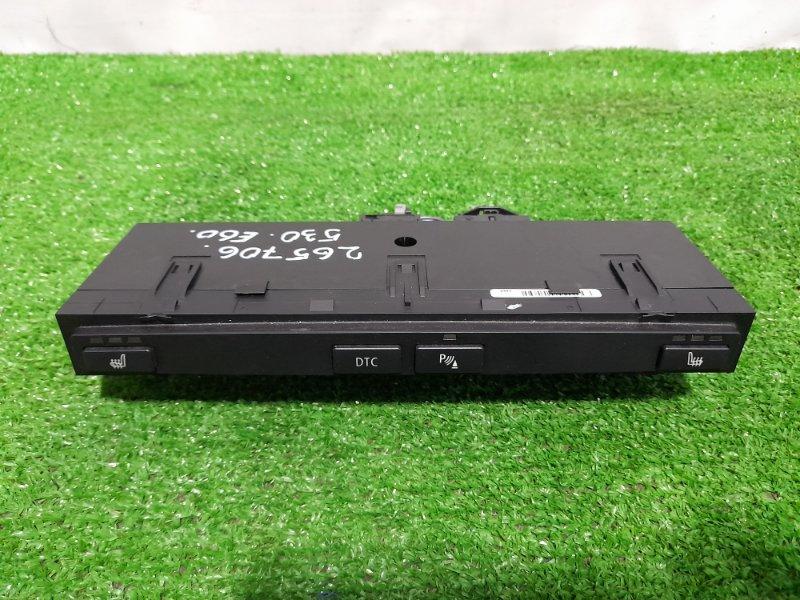 Кнопки в салон Bmw 530I E60 N52B30 2003 Блок подогрева сидений с кнопками DSC и парктрониками.