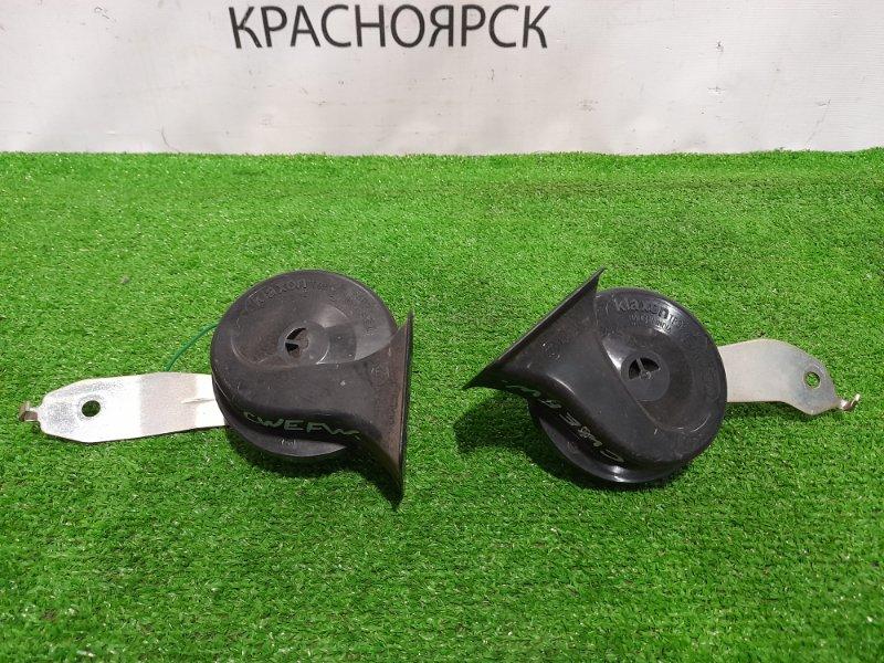 """Сигнал Mazda Premacy CWEFW LF-VDS 2010 пара, """"улитки"""" KLAXON"""